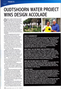 Oudtshoorn_Water_Project_Wins Design_Accolade