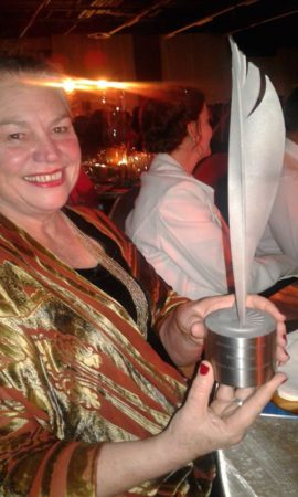 Rowena Hay at the NSTF Gala Dinner in Gauteng