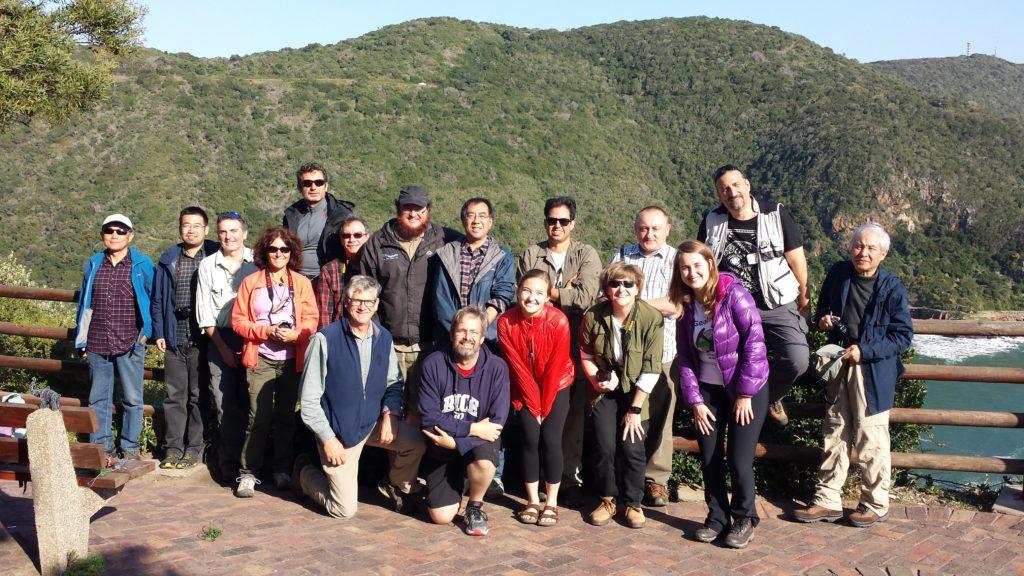 Pre-11 CFB Trip delegate photo at Knysna Heads