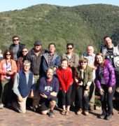 Pre-11 CFB Trip delegate photo at Knysna Heads