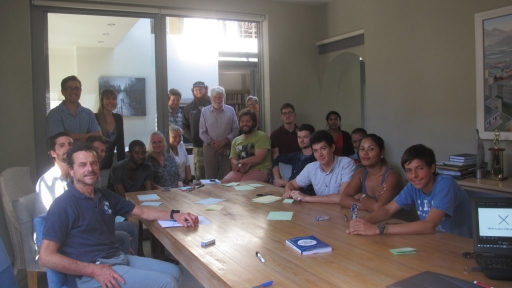 Umvoto staff at Rosemary's workshop on 'How to Realise Our Potential'.